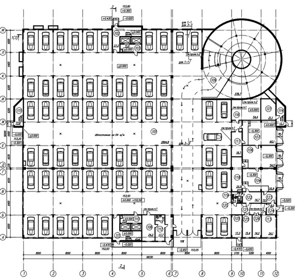 Схема первого этажа.
